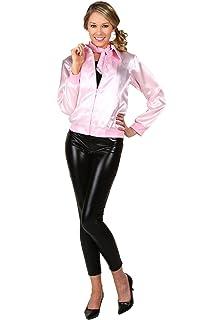 Amazon.com: Authentic Grease Pink Ladies Jacket Costume ...