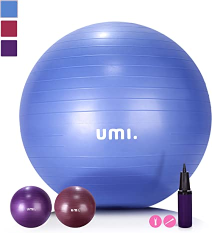 Umi. by Amazon - Pelota de Ejercicio Gym Ball para fitness, yoga ...