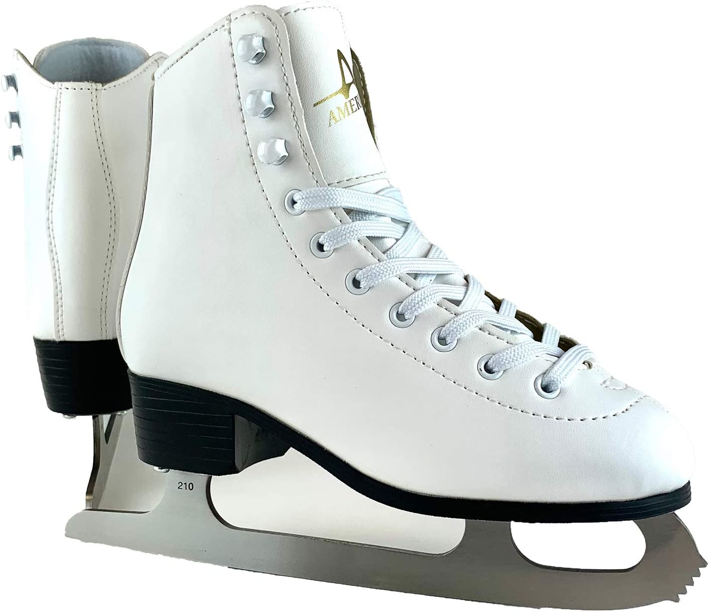 Lake Placid Nitro Adjustable Ice Skates