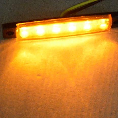 10er Led Blinker Seitenleuchten Für Lkw Bus Trailer Indikatoren Lichter Seitenmarkierungsleuchte 12v Auto