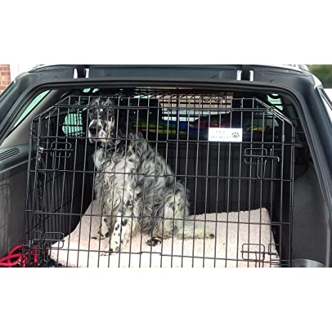 Saab 95 Estate inclinado 4 x 4 coche perro Jaula Caja de viaje ...