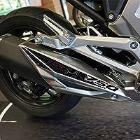 3D-hars zelfklevende uitlaatbescherming NC750 2021 compatibel met Honda NC 750X