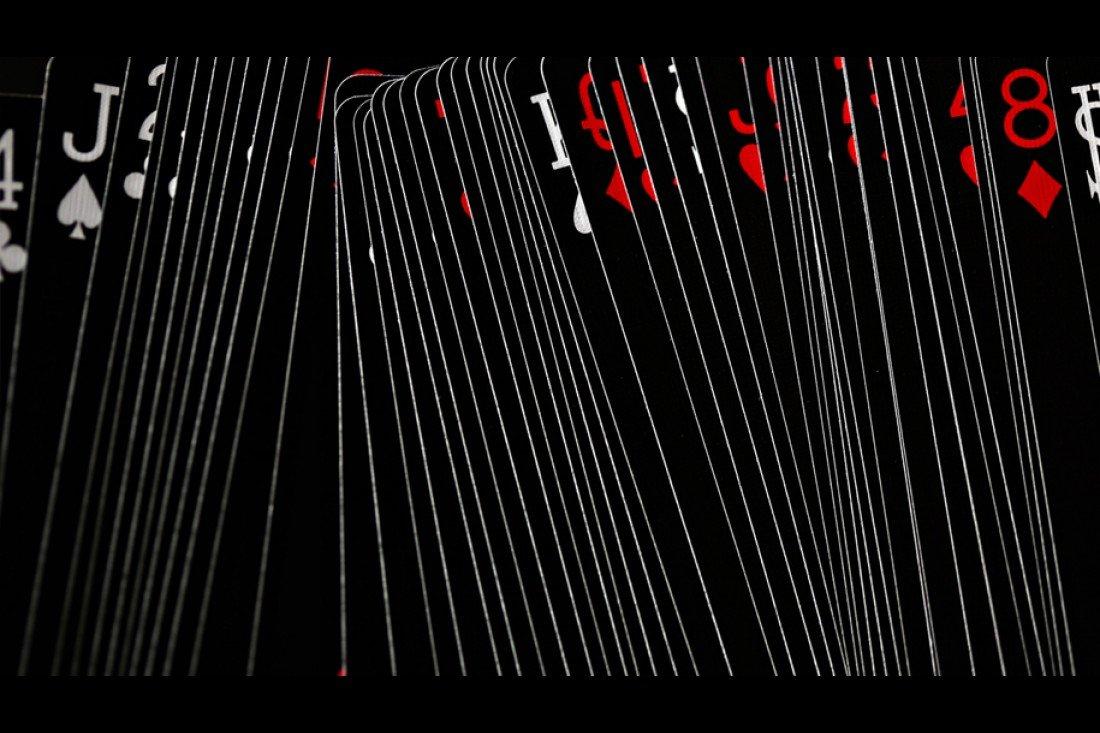 Bicycle Cartes Bicycle black tiger rouge et blanc