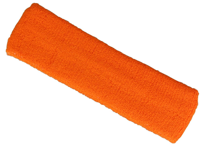 Fascia sportiva per capelli in 5colori Orange unica stb-2012