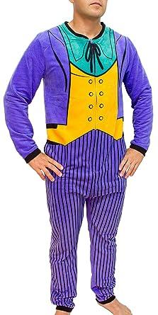 DC Comics The Joker Purple Costume Adult Union Suit (Large)