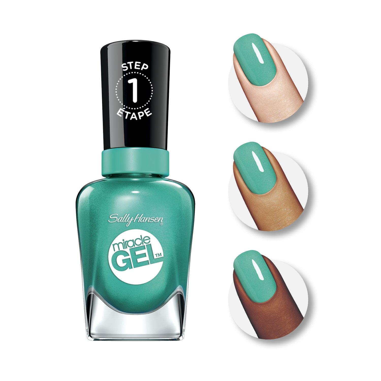 Amazon.com : Sally Hansen Miracle Gel Nail Color, Style Maker, 0.5 ...