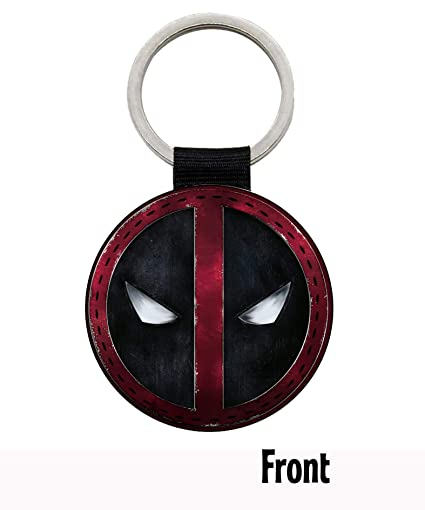 MasTazas Deadpool Ryan Reynolds Llavero Keyring: Amazon.es ...
