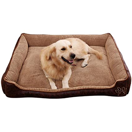 Amazon.com : YD Pet mat-Kennel Removable and Washable Summer ...