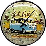 Nostalgic-Art 84030 Volkswagen Get LostRetro Notizblock-Schild VW Bulli