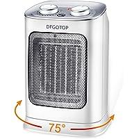 DFGOTOP Mini Calefactor Eléctrico Cerámico Baño, Calefacción Eléctrica Silenciosa Bajo Consumo, Portátil Calefactores…