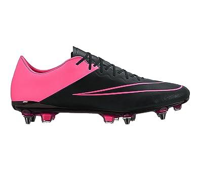 new product 67a8a 47ae2 Nike Mercurial Vapor X LTHR SG Pro 747598006, Chaussures Football - 40 EU:  Amazon.fr: Chaussures et Sacs