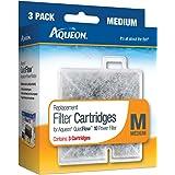 Aqueon Water Filter Cartridge Replacement 06084 Medium 10 Gallon Aquarium, 3 Pack