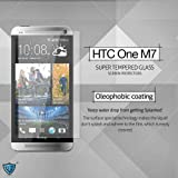 MoArmouz® - Super Tempered Glass Screen Protector for HTC One M7 - Resilient Tempered Glass For Guaranteed Protection From Scratches & Drops Anti-Scratch / Fingerprint Resistant / HD /9H Hardness 3D Touch Compatible / Mobile Accessories / Screen Protectors
