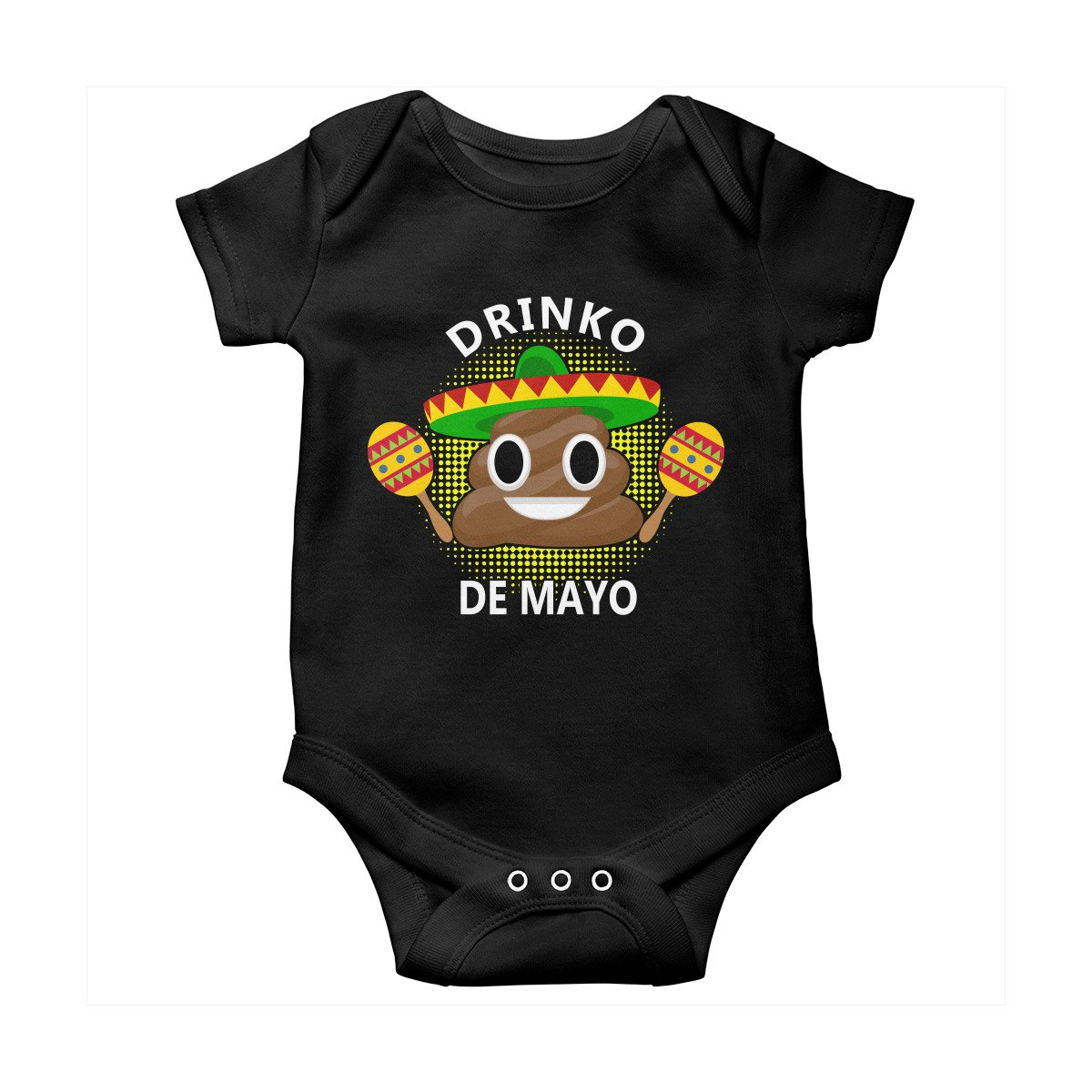 Poogky SHIRT メンズ Medium Baby Onesie Black B07CQSWNCY