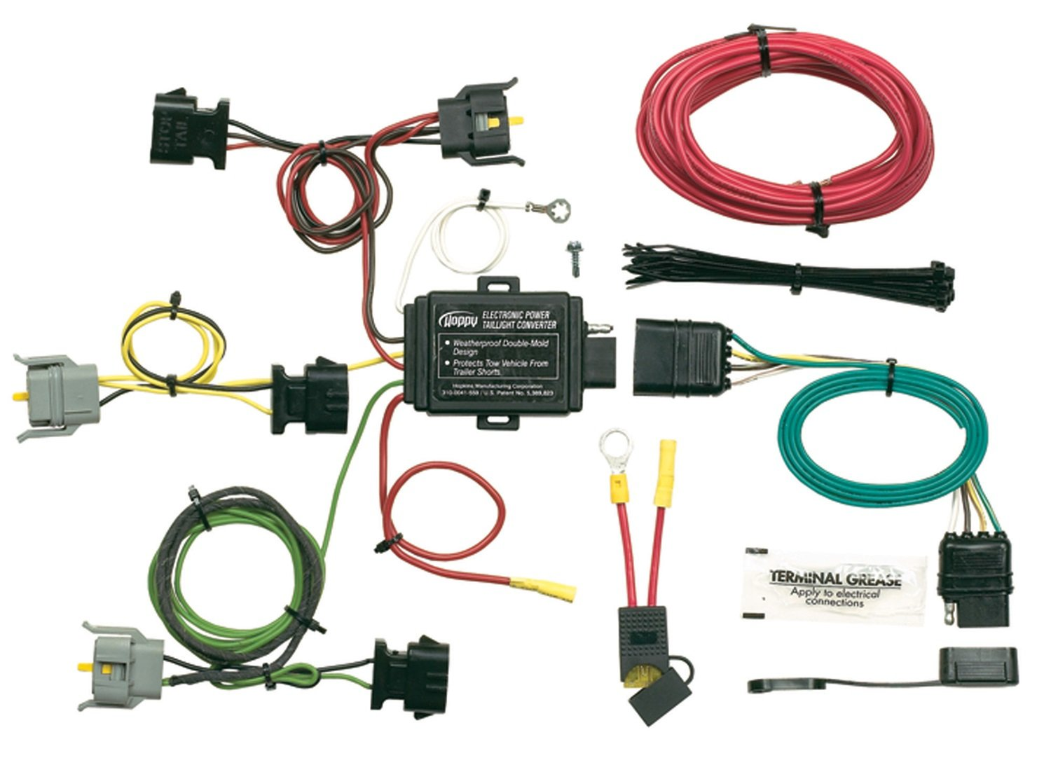 71P3UEzZLAL._SL1500_ amazon com hopkins 40315 plug in simple vehicle wiring kit hopkins 47185 wiring diagram at pacquiaovsvargaslive.co