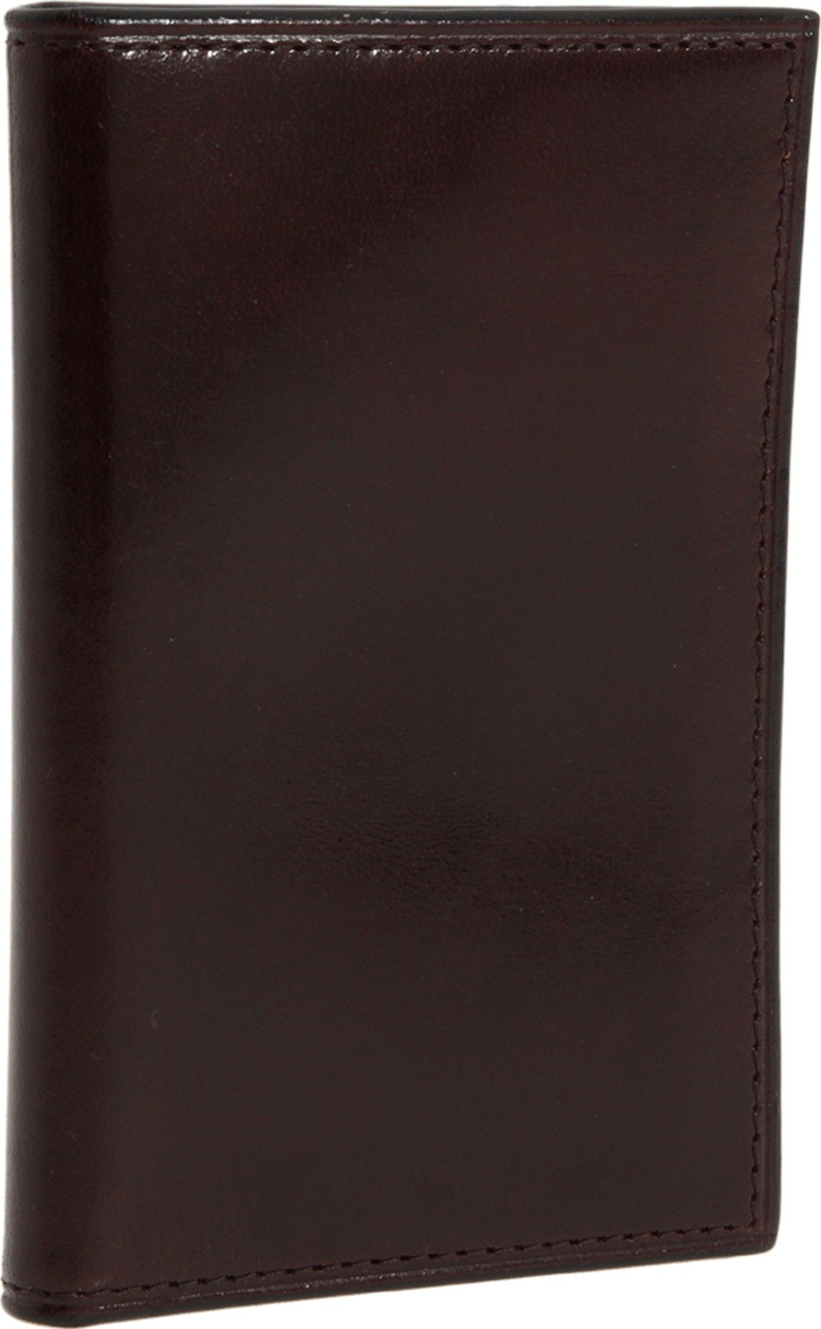Bosca Men's Old Leather Collection - 8 Pocket Credit Card Case Dark Brown Leather One Size