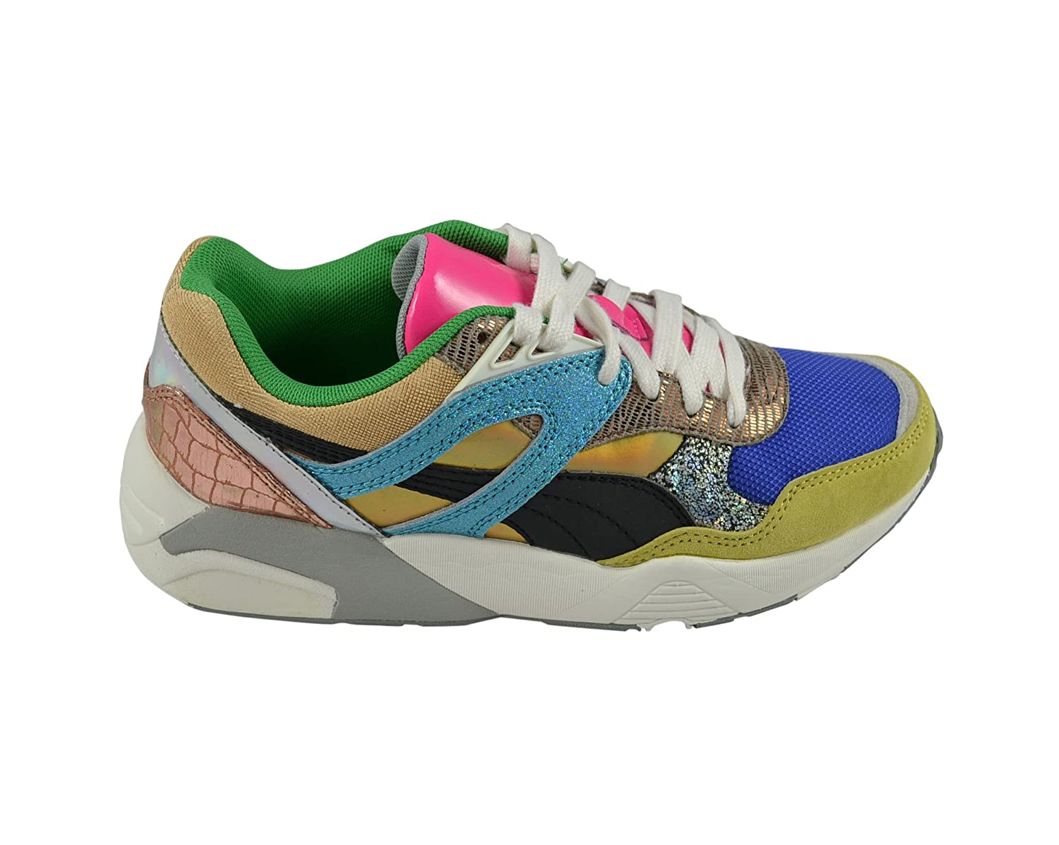 Royaume-Uni disponibilité 03003 076e0 Puma R698 Woman Polly Blue/Green/White Gr. 36: Amazon.de ...