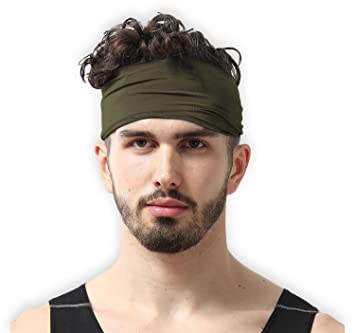 Tough Headwear Mens Headband - Forest Green