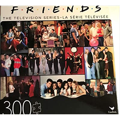 Friends The Television Series 300 Piece Jigsaw Puzzle: Toys & Games