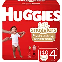 Huggies Little Snugglers Baby Diapers, Size 4, 140 Count