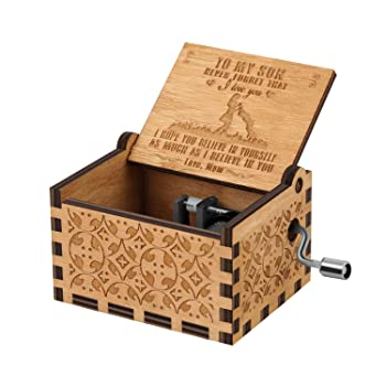 You are My Sunshine Wood Music Boxes,