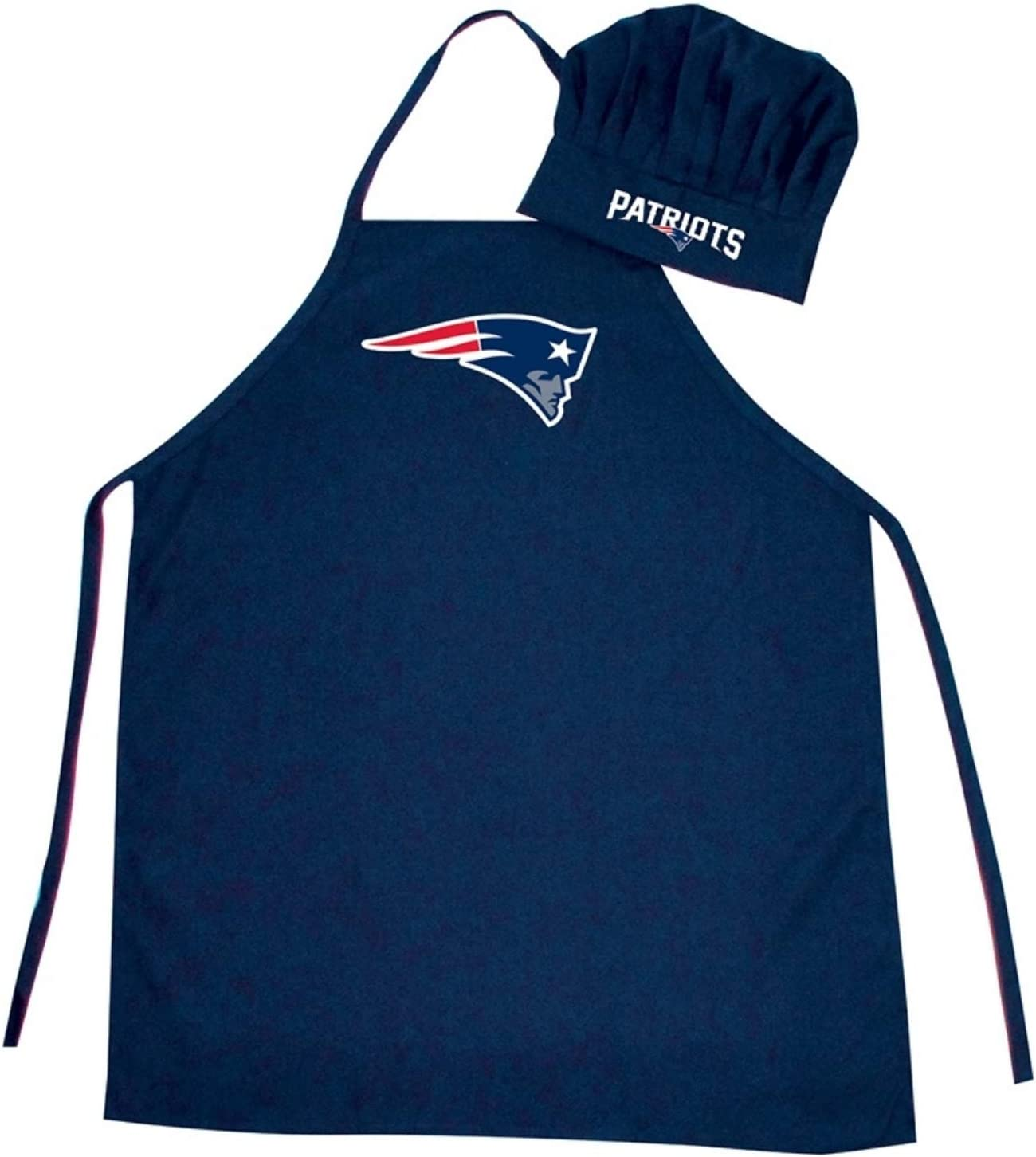 Pro Specialties Group Barbeque Apron and Chef's Hat - New England Patriots - NFL