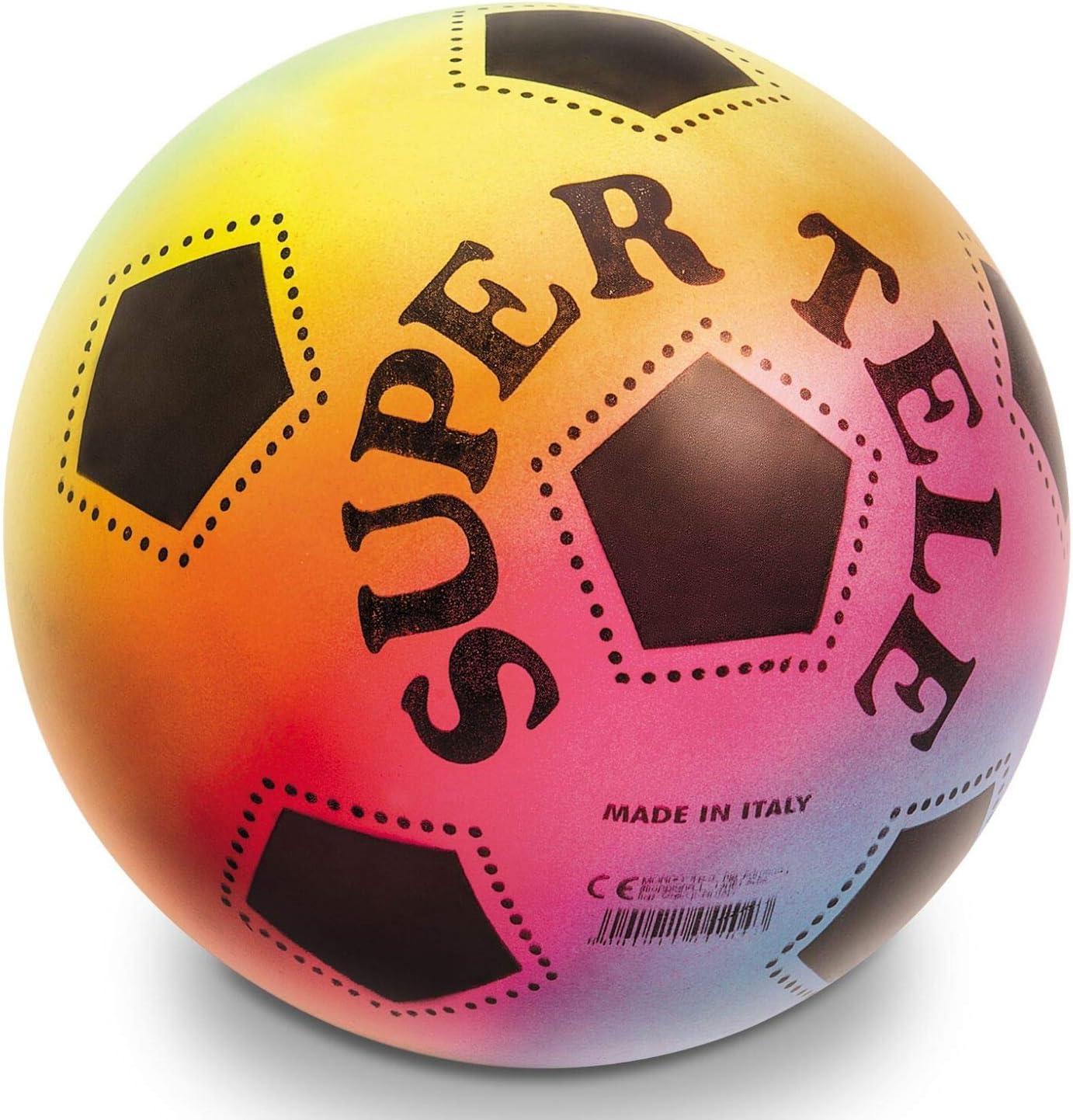 Mondo Balón Super Tele Rainbow 230: Amazon.es: Juguetes y juegos