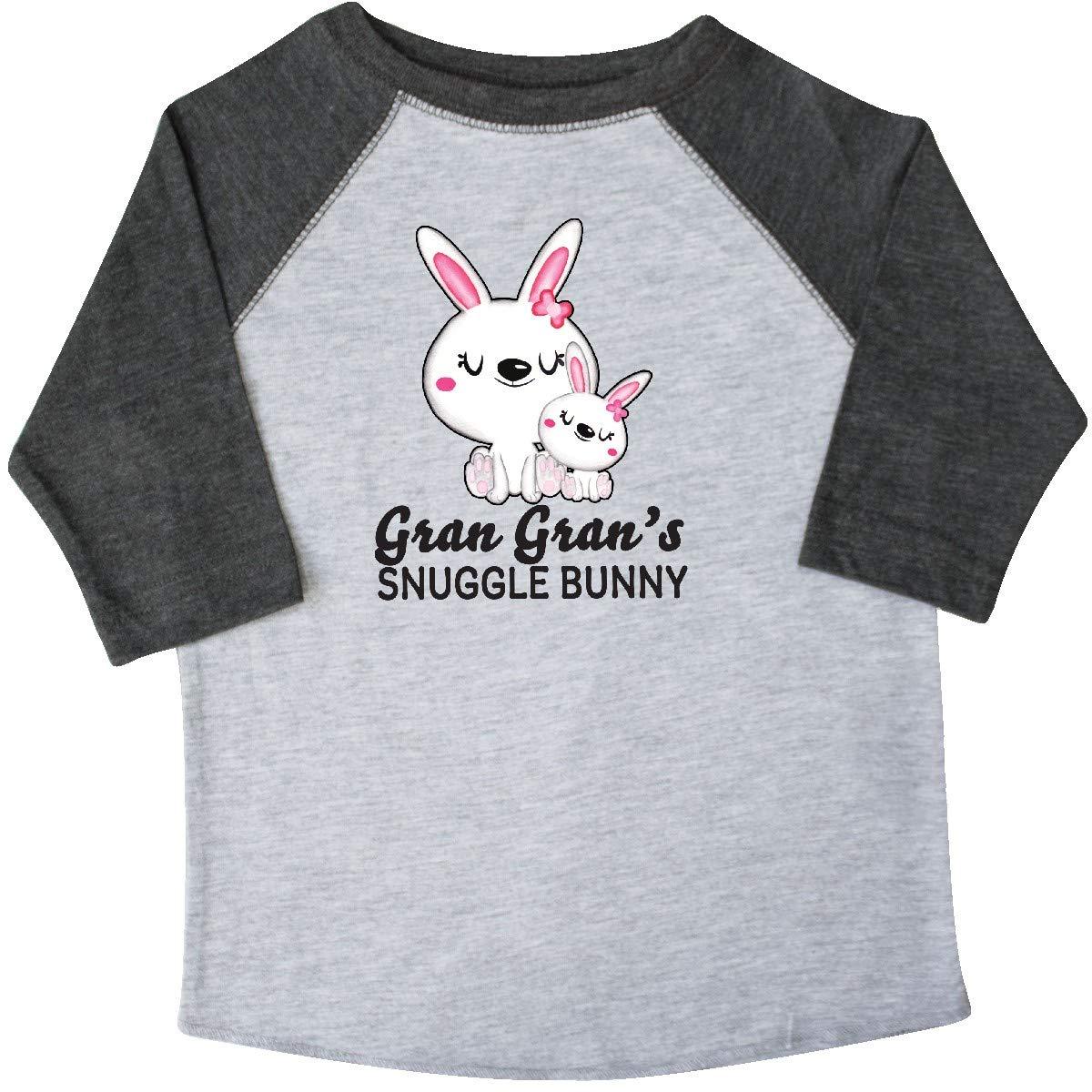 inktastic Gran Grans Snuggle Bunny Easter Toddler T-Shirt