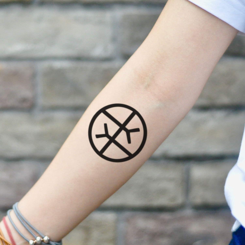 Tatuaje Temporal de Símbolo de empatía de trabajo social (2 Piezas ...