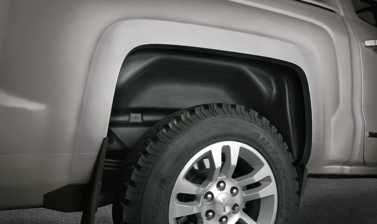 will not fit Raptor Husky Liners 79121 Black Wheel Well Guards Rear Wheel Well Guards Fits 2015-2019 Ford F-150