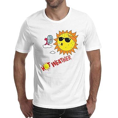de29785db968 Amazon.com  QQPPIG hot Weather Men Short Sleeve 100% Cotton Tee t ...