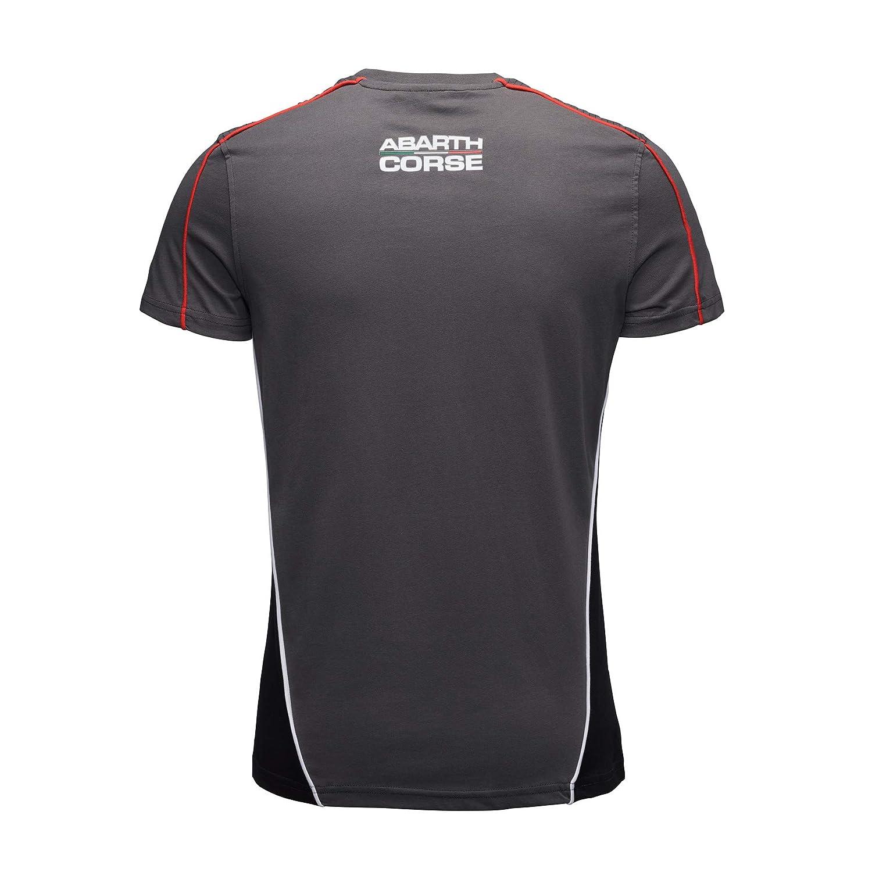 FCA Camiseta de competición Abarth de Color Gris con perfiles ...