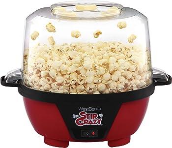 West Bend 82505 Stir Crazy Electric Hot Oil Popcorn Popper