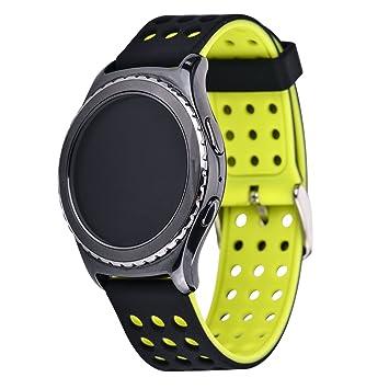 Greatfine Correa 20MM Watch Pulseras de Repuesto para Samsung Gear ...