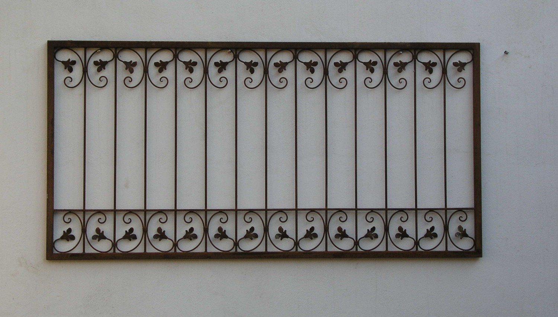 Genial Gartenzaun Metall Dekoration Von Schmiedeeisen Zaun Antik Eisen Monaco-z60/200 Roh Rost