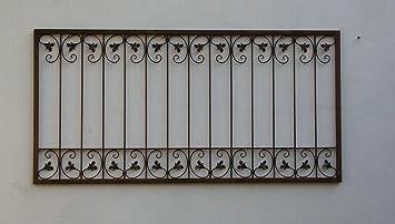 Schmiedeeisen Zaun Antik Eisen Gartenzaun Metall Monaco Z60 200 Roh