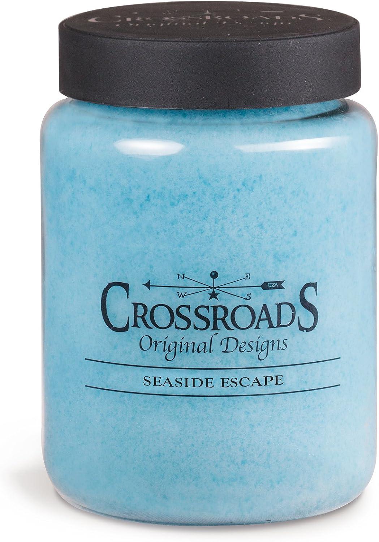 Crossroads Seaside Escape Scented 2-Wick Candle, 26 Ounce