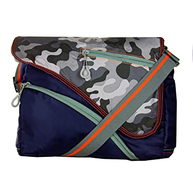 b55ab1501c942 Image Unavailable. Image not available for. Colour  JG Shoppe Casual Nylon  Messenger Sling Bag