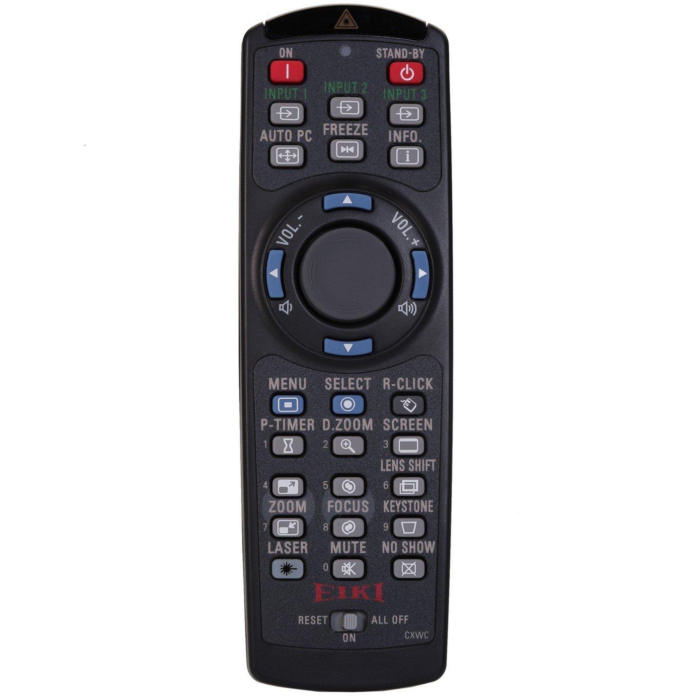 EIKI 645 089 2721 | puntero láser por infrarrojos con mando a ...