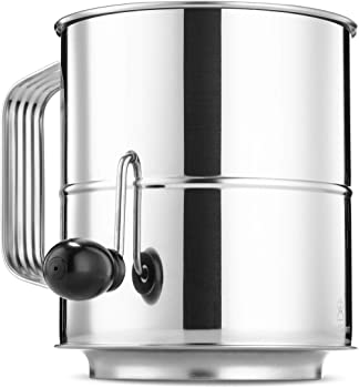 ChefGiant 8 Cup Corrosion Resistant Flour Sifter
