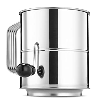 ChefGiant 8-cup stainless steel flour sifter