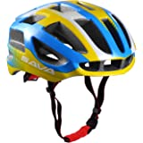 SAVANE Light Weight Cycle Helmet for Bike Riding Safety - Adjustable Adult Bike Helmet with Inner Padding in Medium Size (57-62cm)