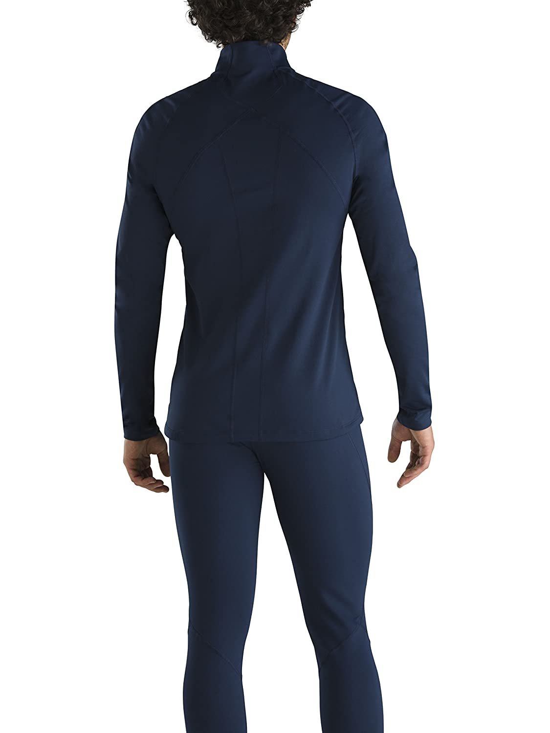 Saxx Underwear Mens Thermoflyte Performance Long Sleeve Top Black Small