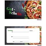 100 Geschenkgutscheine Gastronomie Gutscheine Pizzeria Restaurant Pizza-624
