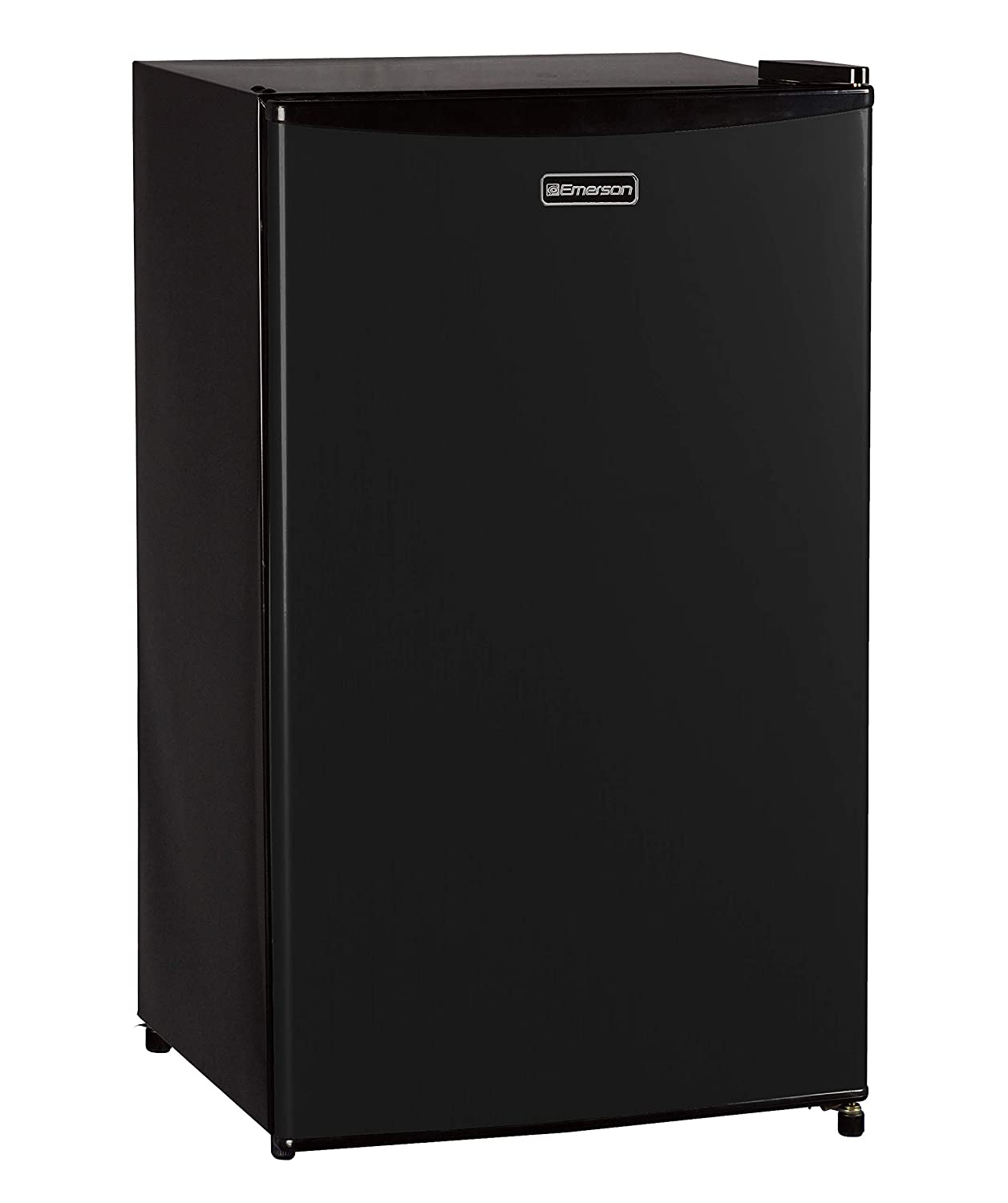 Emerson CR330BE 3.3 Cubic Foot Compact Single Door Refrigerator, Black