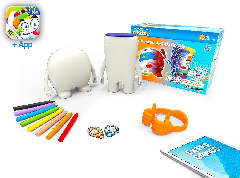 Amazon.es: kibi Mr Plinton & Galaxio 3D - Muñecos Creatividad para ...