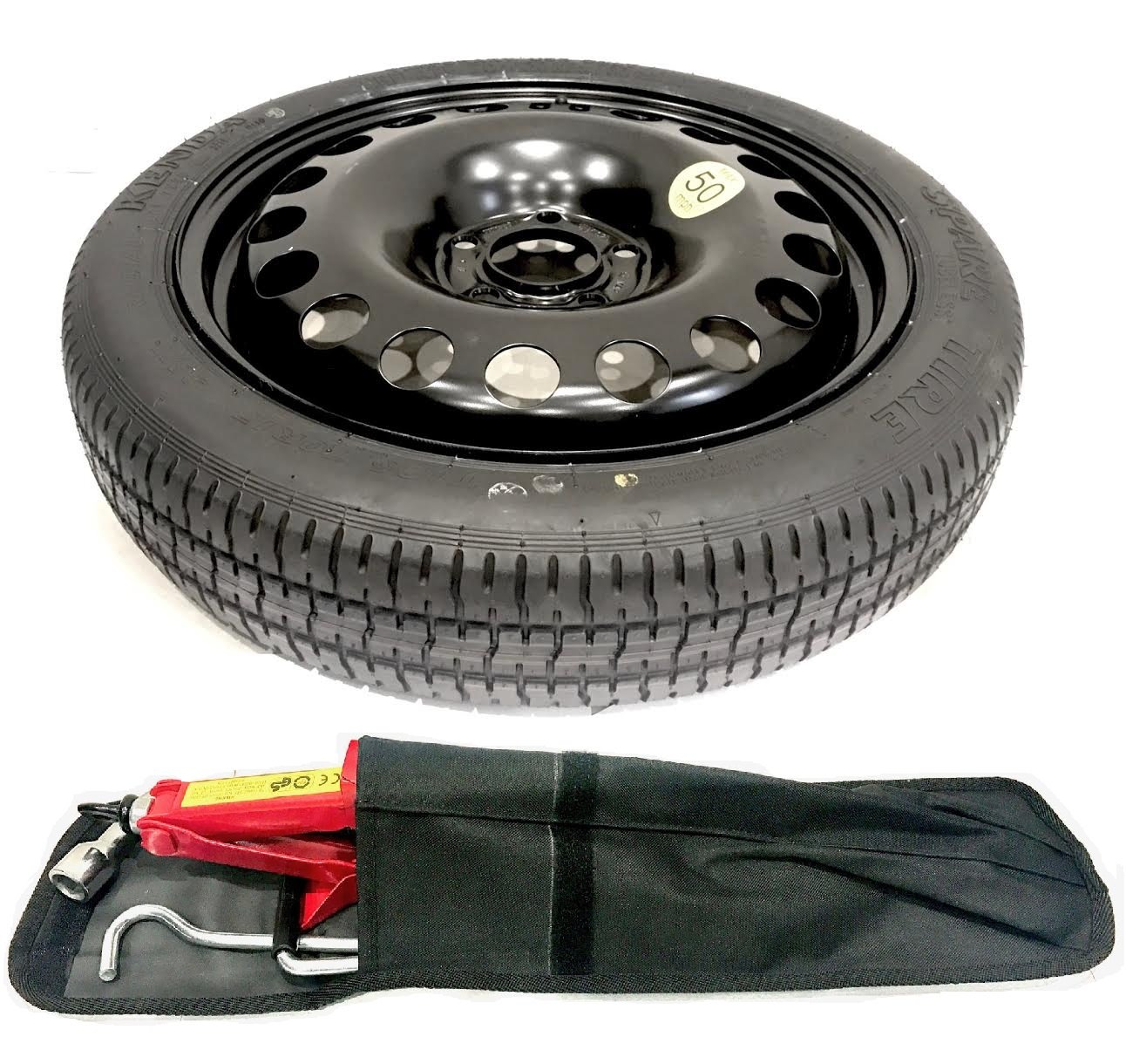 TheWheelShop Honda Civic 2012/  / Present Day 40,6/ cm Space Saver Roue de Secours et kit doutil
