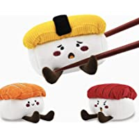 HugSmart Pet - Foodie Japan Sushi | Squeaky Soft Plush Dog Toys for Small Dogs | Puppy Toys for Teething Small Dogs…