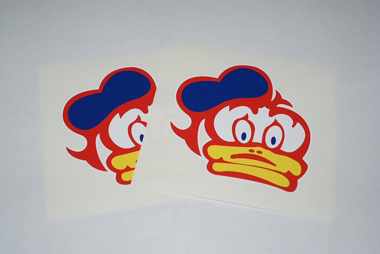 Rapro Graphics Barry Sheene Duck Decal Pair