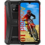 Ulefone Armor 8 Rugged Cell Phones Unlocked, Android 10 Helio P60 Octa-core 4GB + 64GB ROM, 16MP Triple Rear Camera + 8MP Fro